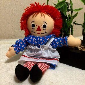 """Raggedy Ann doll 14"""""""